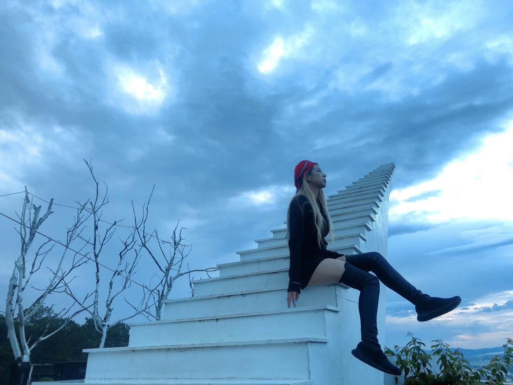 天堂的階梯。(圖/維克提供)