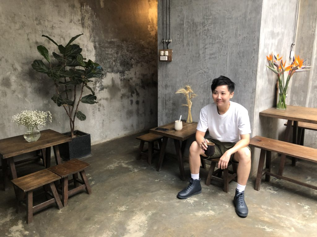 咖啡屋 TRÒN QUÁN。(圖/維克提供)