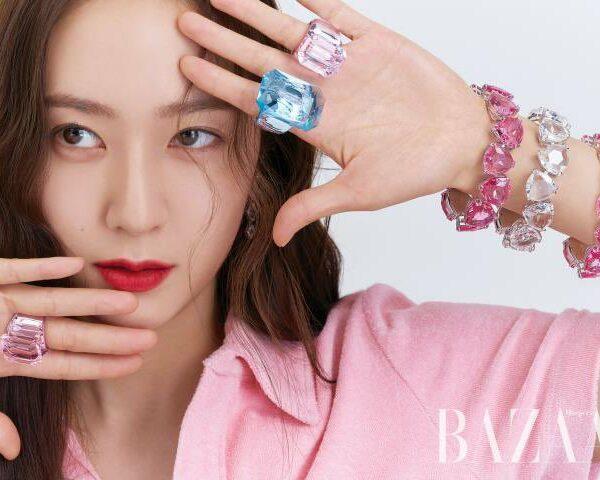 Swarovski夢幻系列首飾成為韓國少女時代太妍、Krystal、Jessica時尚搭配
